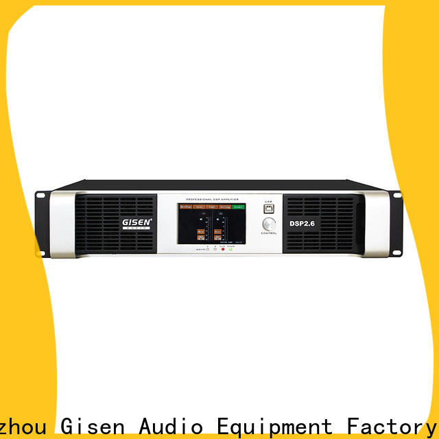 Gisen multiple functions audio amplifier pro manufacturer