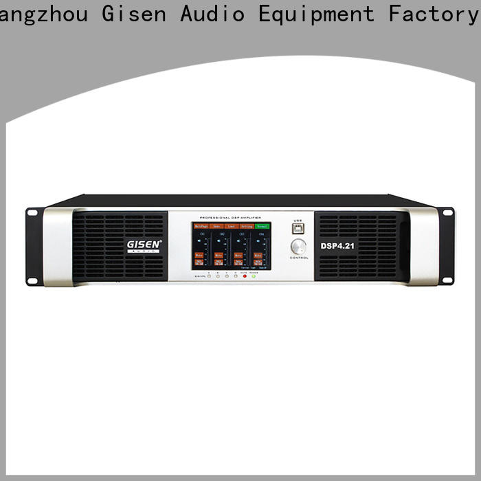 high quality dsp amplifier dsp manufacturer for venue