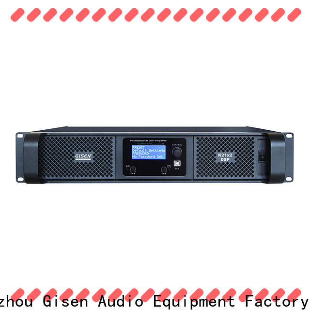 Gisen dsp amplifier power manufacturer for various occations