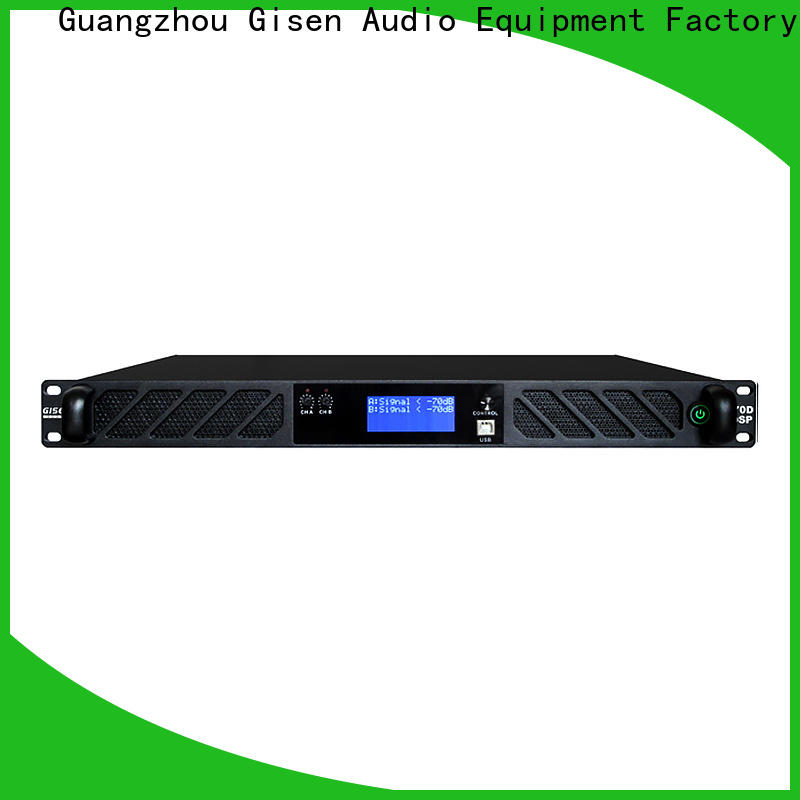 Gisen high quality amplifier sound system factory