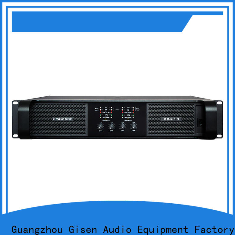 Gisen class professional amplifier get quotes for ktv