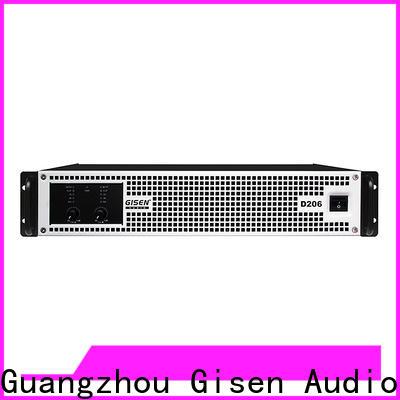 Gisen professional best class d amplifier fast shipping for stadium