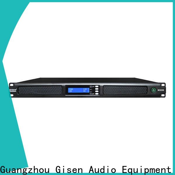 Gisen new model professional power amplifier wholesale for venue