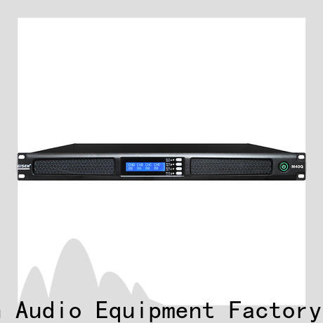 new model 4 channel power amplifier class supplier for entertainment club
