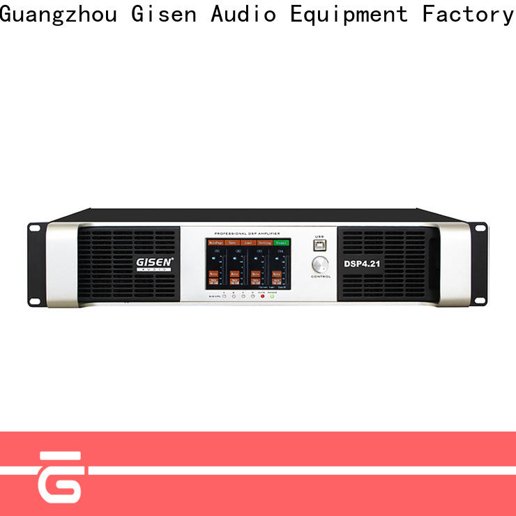 Gisen 4 channel desktop audio amplifier manufacturer for various occations