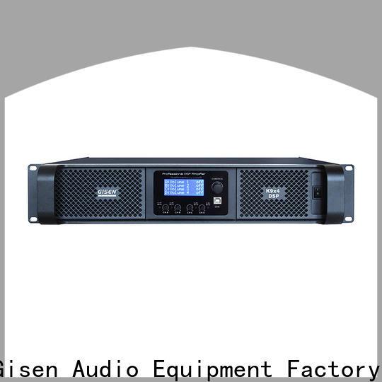 Gisen dsp studio amplifier supplier for venue