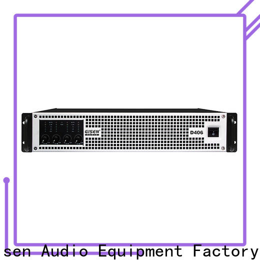 guangzhou hifi class d amplifier 2100wx2 fast delivery for stadium