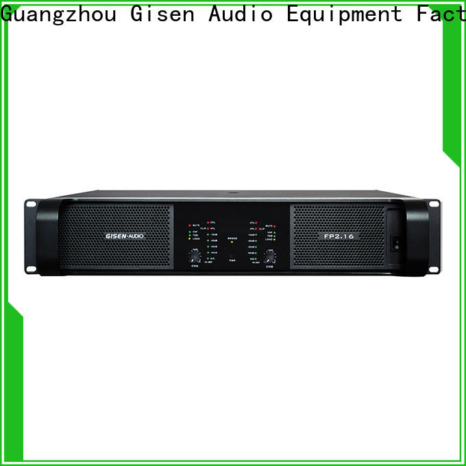 Gisen power stereo amplifier source now for vocal concert