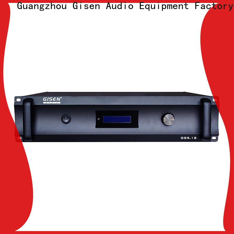 Gisen oem odm 2 channel home stereo amplifier supplier for home theater