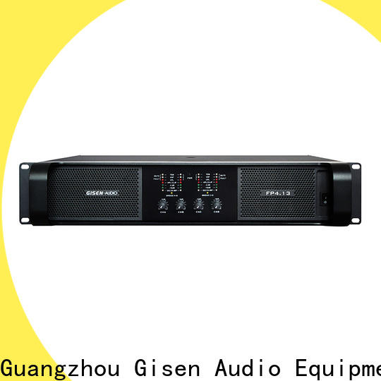 Gisen class best power amplifier get quotes for vocal concert