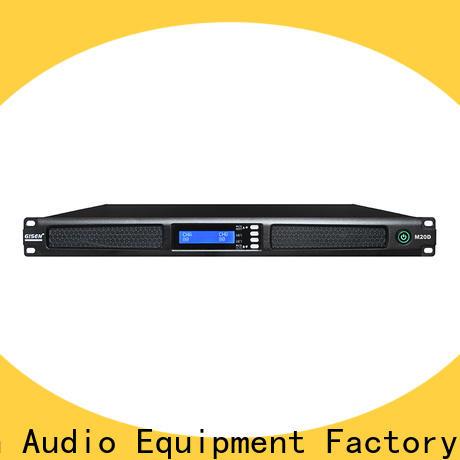 Gisen power audio power amplifier supplier for performance