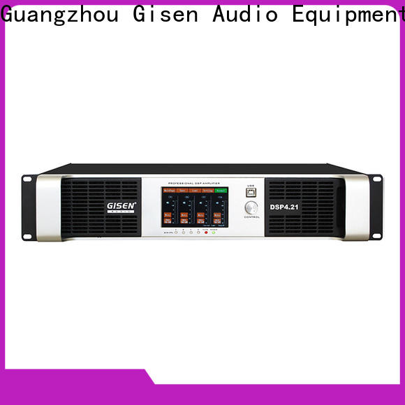 Gisen high quality multi channel amplifier factory for venue