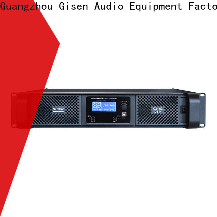 professional best power amplifier in the world 2100wx4 supplier for performance