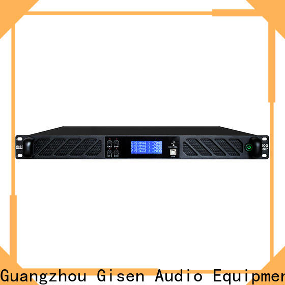 high quality dj power amplifier 1u factory for various occations