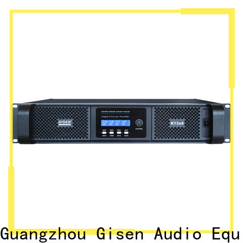 Gisen guangzhou best class d amplifier fast delivery for performance
