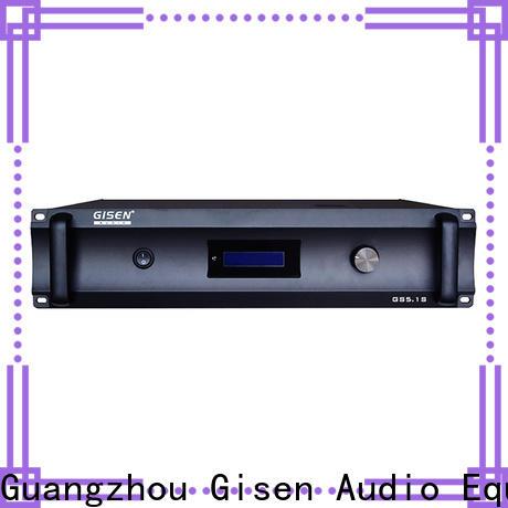 Gisen oem odm best stereo amplifier exporter for ktv