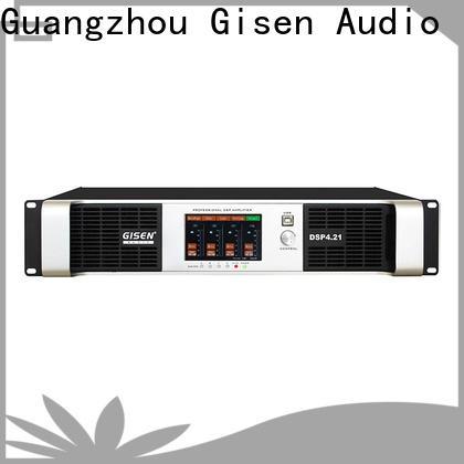 Gisen professional dsp amplifier manufacturer for venue
