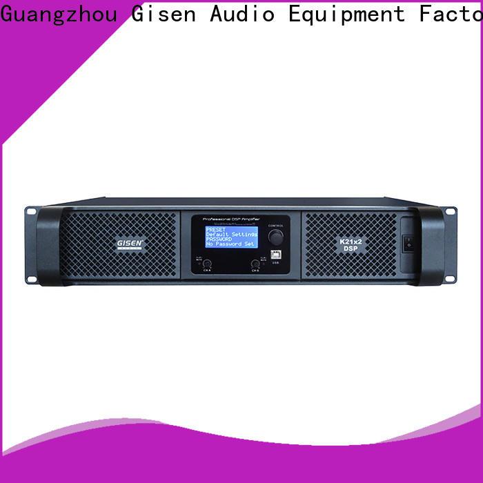 Gisen multiple functions amplifier sound system manufacturer for venue