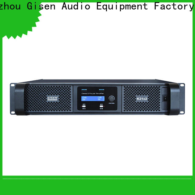 Gisen advanced sound digital amplifier wholesale for entertaining club