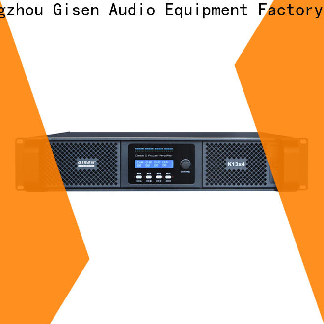 Gisen class class d power amplifier fast delivery for meeting
