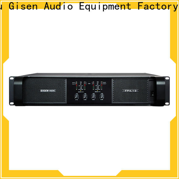 Gisen quality assurance professional amplifier get quotes for vocal concert