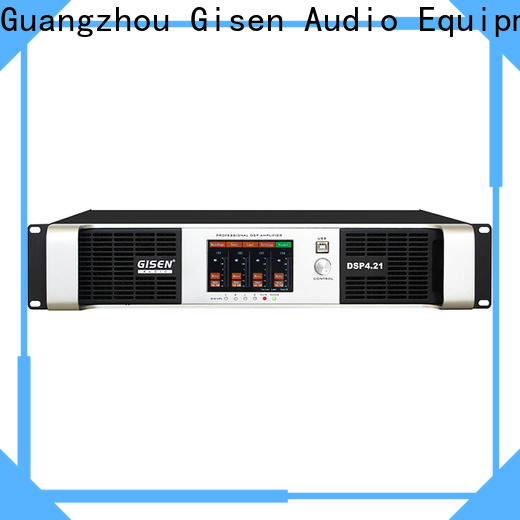 Gisen dsp dj power amplifier wholesale for stage