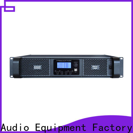 high quality 1u amplifier touch screen supplier for stage