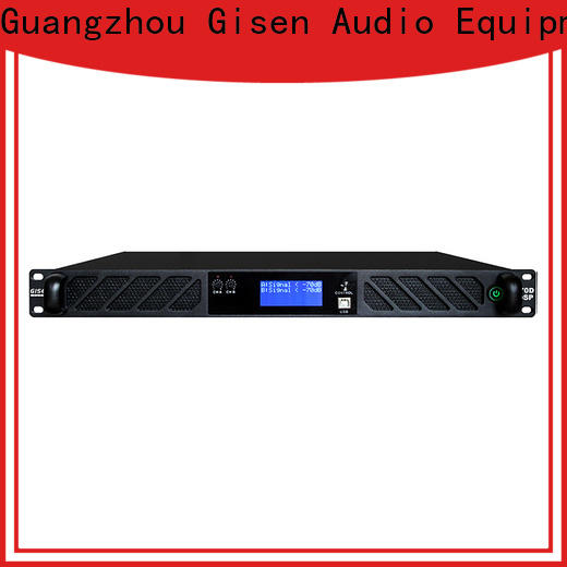 high quality amplifier sound system 2100wx4 factory for stage
