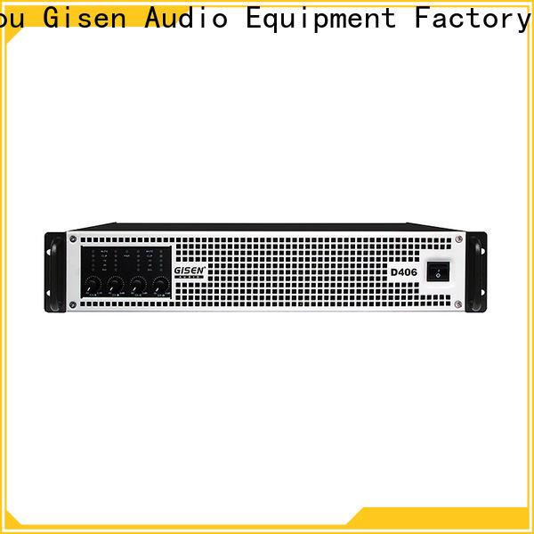 Gisen full range class d power amplifier fast shipping for meeting