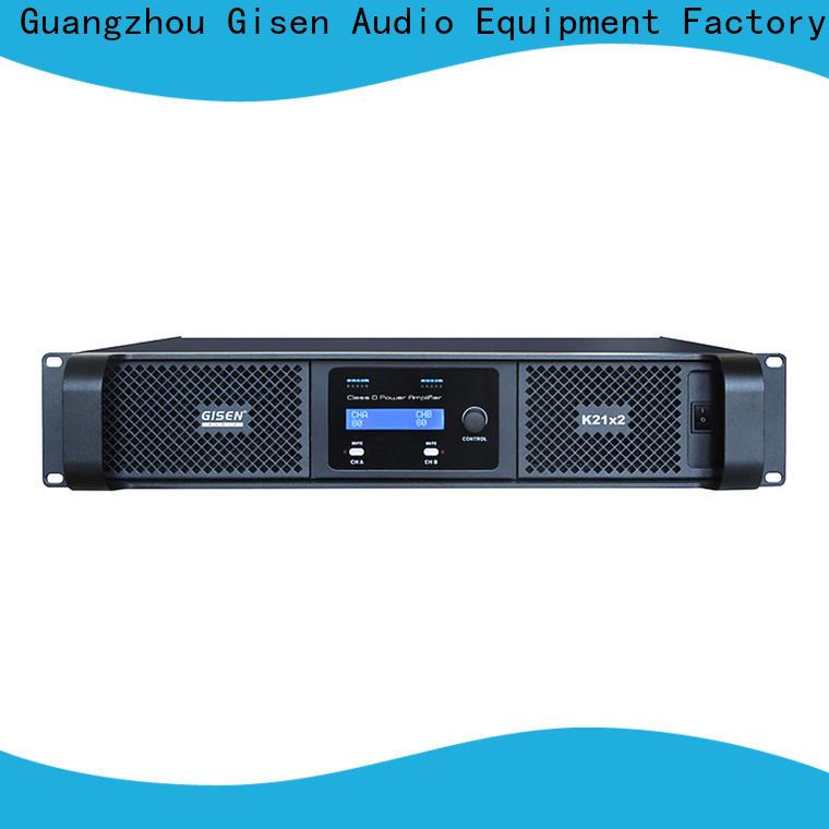 high efficiency class d amplifier digital manufacturer for stadium