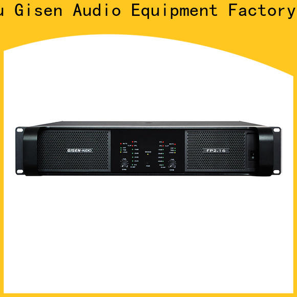 Gisen popular music amplifier one-stop service supplier for vocal concert