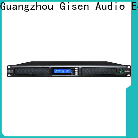new model 4 channel amplifier power supplier for entertainment club