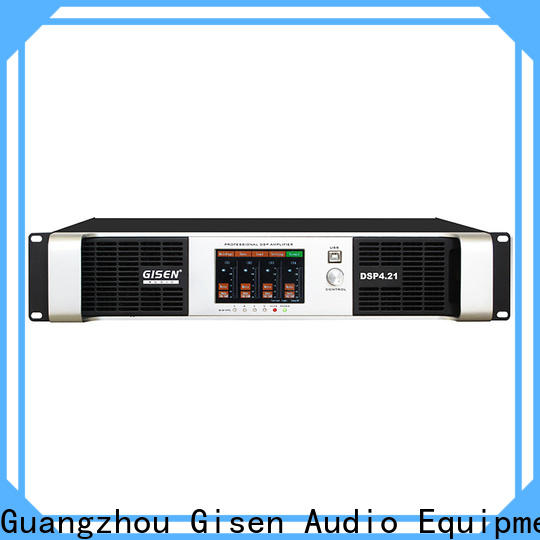 Gisen multiple functions 1u amplifier wholesale for venue