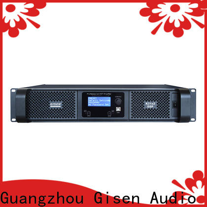 Gisen digital dj power amplifier wholesale for stage