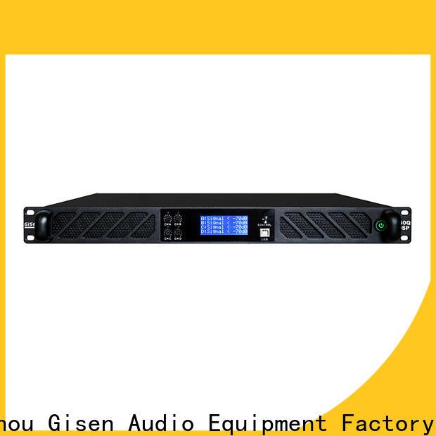 Gisen professional desktop audio amplifier wholesale for various occations