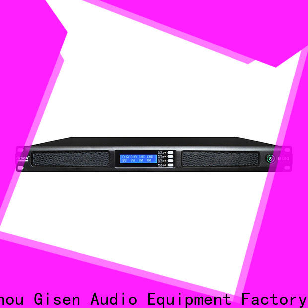 new model 4 channel power amplifier 4 channel series for venue