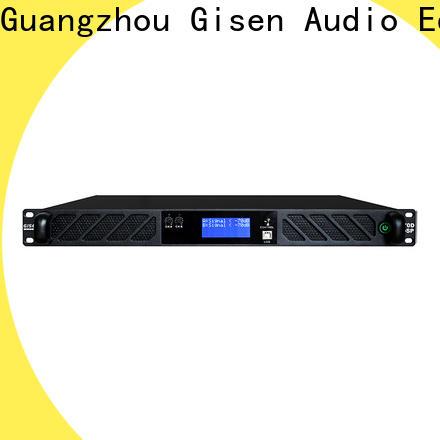Gisen power best power amplifier in the world manufacturer