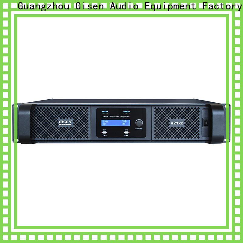 advanced hifi class d amplifier 2100wx4 wholesale for performance