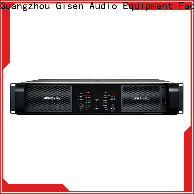 Gisen unrivalled quality stereo amplifier one-stop service supplier for vocal concert