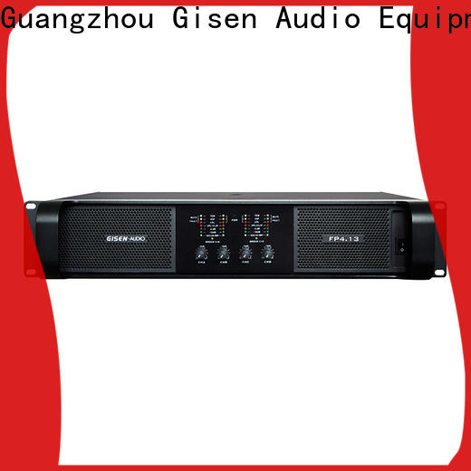 quality assurance music amplifier power one-stop service supplier for vocal concert