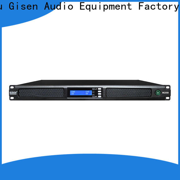 new model digital amplifier 4 channel supplier for entertainment club