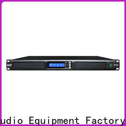 Gisen new model power amplifier supplier for venue