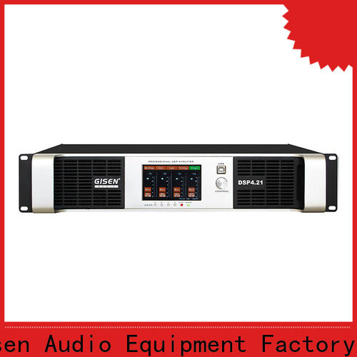 Gisen high quality amplifier sound system supplier for venue