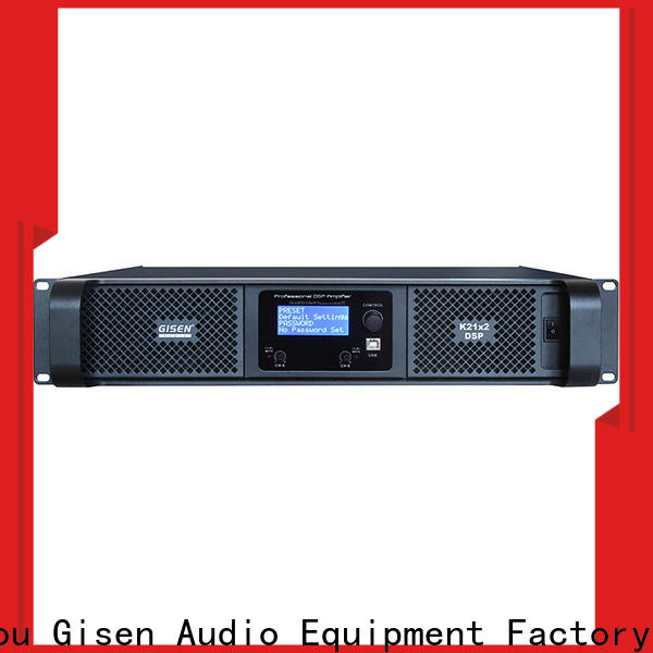 multiple functions amplifier sound system 2100wx2 supplier