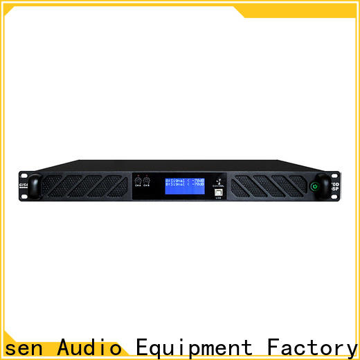 Gisen 8ohm dsp power amplifier factory for performance