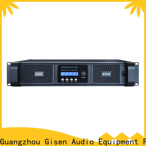 Gisen guangzhou top 10 power amplifiers wholesale for stadium