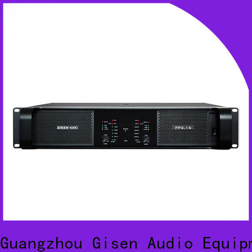 Gisen 4x1300w power amplifier class td one-stop service supplier for vocal concert