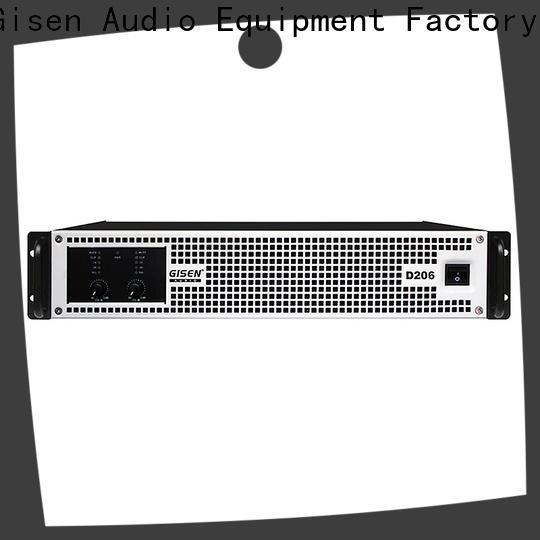 Gisen professional sound digital amplifier wholesale for performance