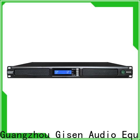 Gisen new model sound amplifier manufacturer for performance