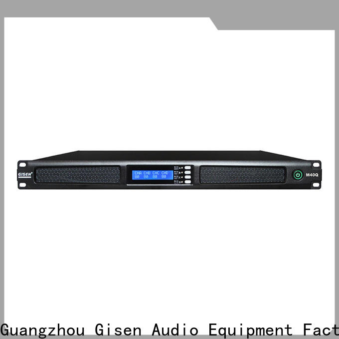 Gisen power audio power amplifier wholesale for entertainment club